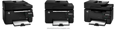 HP LaserJet Pro M127fn MFP yazıcı driverı.