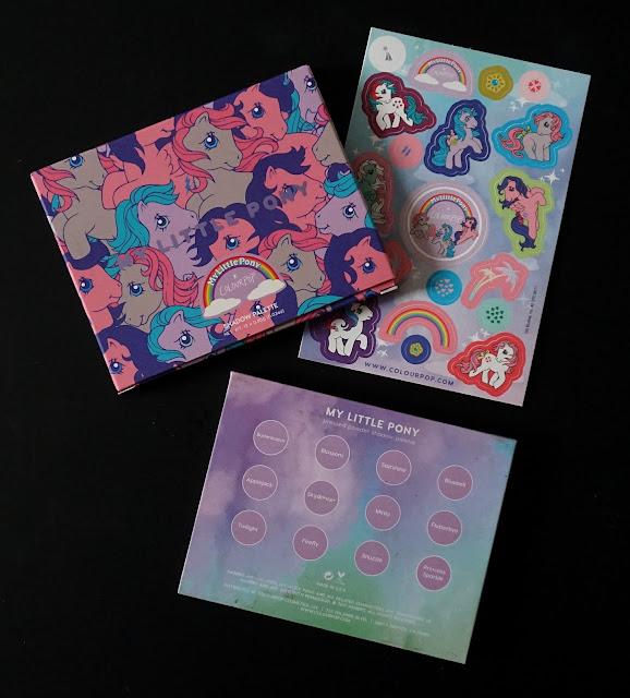 My Little Pony x Colourpop Palette Revue