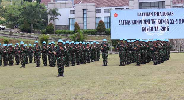 TNI Siapkan Satgas Kizi Misi PBB di Kongo