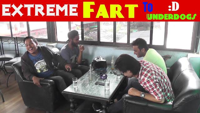 Nepali Prank - Extreme fart to Underdogs (Awkward Meetup)