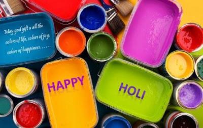 Happy Holi 2017 WhatsApp Images Status