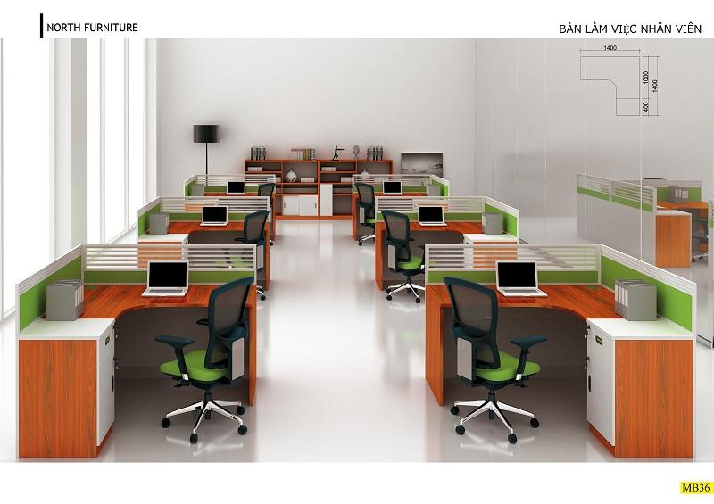 Lựa chọn bàn ghế phù hợp với thiết kế phòng làm việc không gian nhỏ