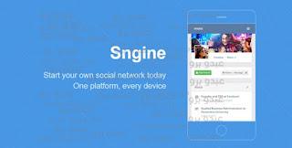تحميل أخر أصدار من سكربت التواصل Sngine v2.5.6 PHP Social Network