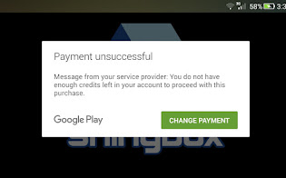 Cara Mengatasi Pembayaran Melalui Pulsa Tidak Ada Pada Google Play
