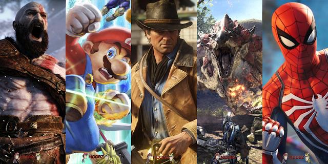 Os Melhores Games de 2018