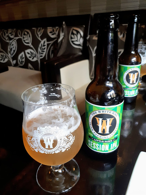 White Hag Session IPA at Cawley's Guesthouse in Tubbercurry, Sligo Ireland