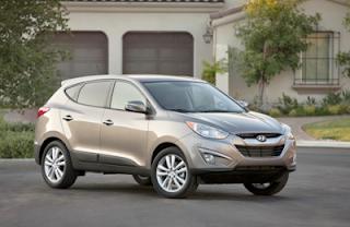 Dimensi Mobil Hyundai Tucson
