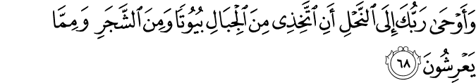 Surat An Nahl Ayat 68