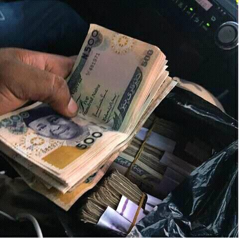 Image result for pictures of naira bundles