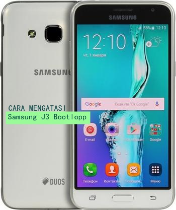 Cara atasi Samsung J3 bootloop tanpa Flash Hard Reset