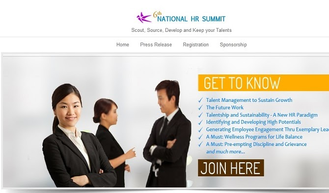 6th National HR Summit: Talent Management to Sustain Growth