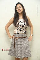 Actress Vanditha Stills in Short Dress at Kesava Movie Success Meet .COM 0009.JPG