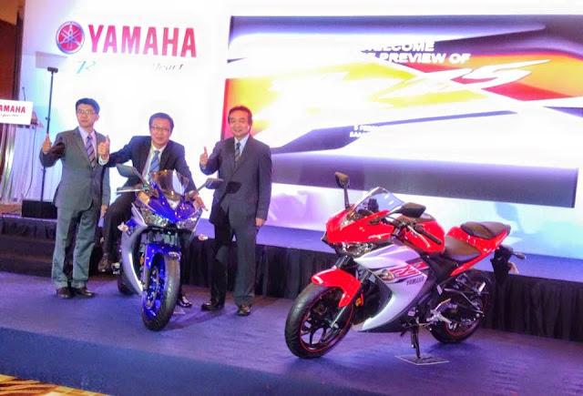 Yamaha YZF- R25 2015 Di Lancarkan Di Malaysia