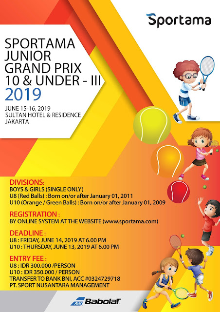 SPORTAMA JUNIOR GRAND PRIX 10 & UNDER - III