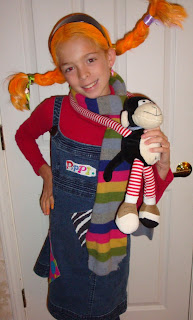 pippi longstocking Halloween costume homemade