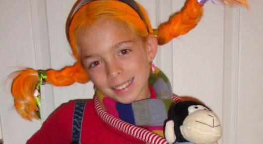 How to make a Pippi Longstocking Halloween costume
