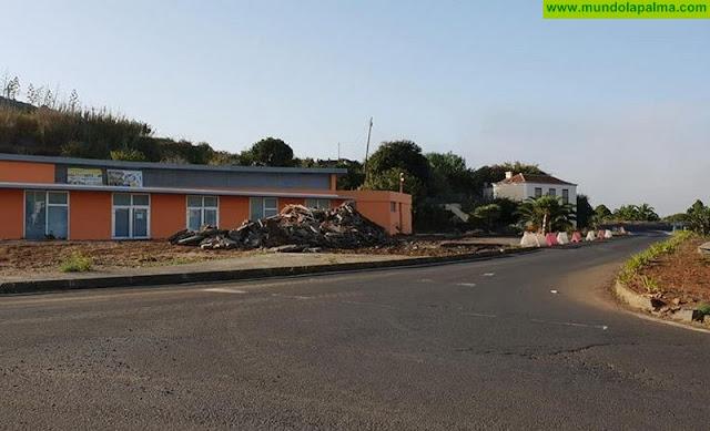 Comienzan las obras en el entorno del Mercadillo Municipal con cargo al FDCAN en Puntallana