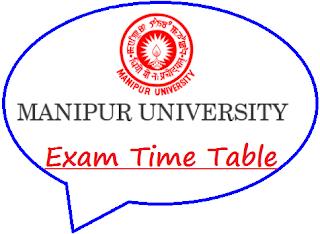 Manipur University Routine 2020