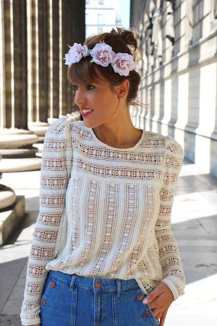 blog mode dentelle blouse