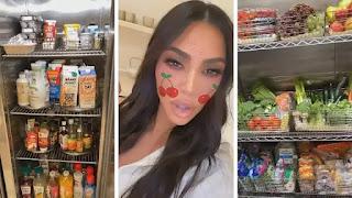 A geladeira de Kim Kardashian é louca - visite sua cozinha!