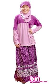 Model baju muslim anak untuk harian
