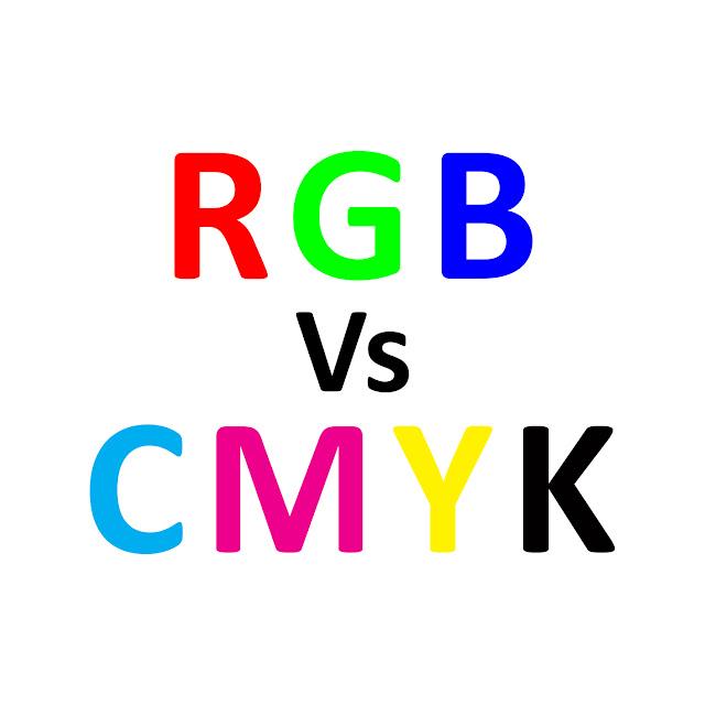 Perbezaan Warna RGB & CMYK