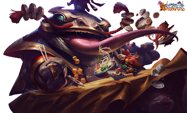 RENDER SKIN Coin Emperor Tahm Kench