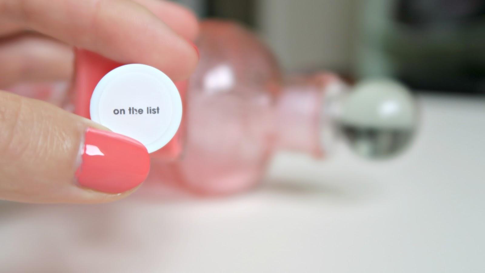 essie gel couture on the liste teinte corail et effet gel sur les ongles