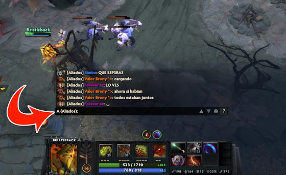 como hablar en chat global en dota 2