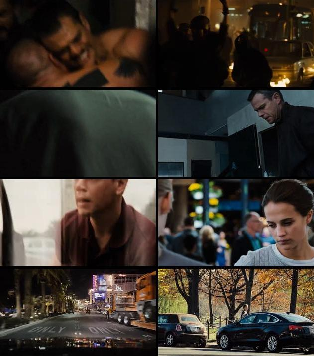 Jason Bourne 2016 English 720p HC HDRip