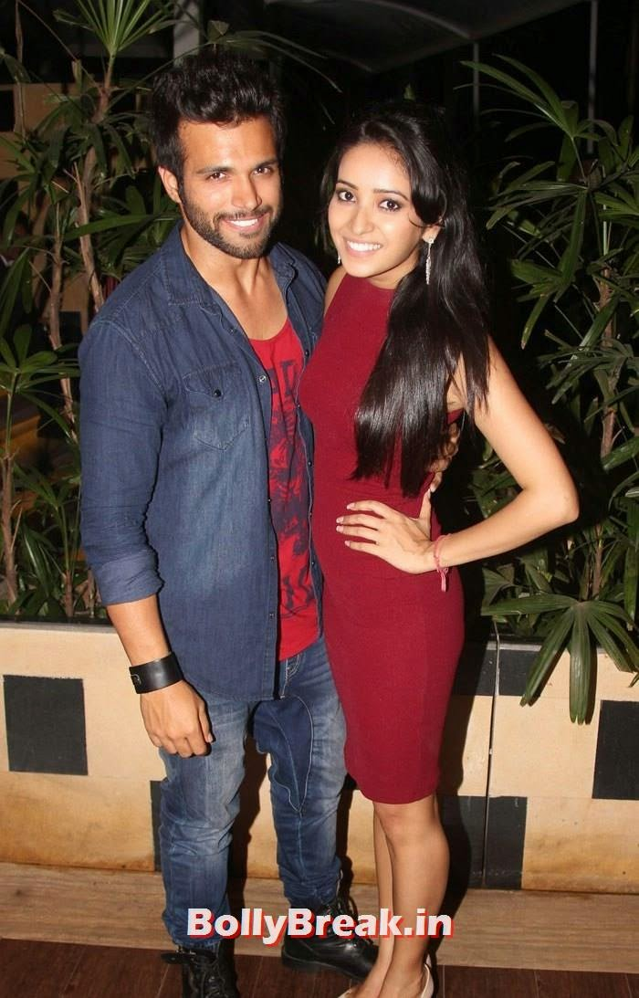 Rithwik Dhanjani, Asha Negi in hot red dress, Hot Pics from Sargun Mehta Birthday Bash