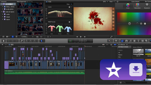 iMovie, one of the best video editing and creation tool.