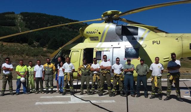 Minuto de silencio por agente forestal fallecido incendio La Palma Publicar