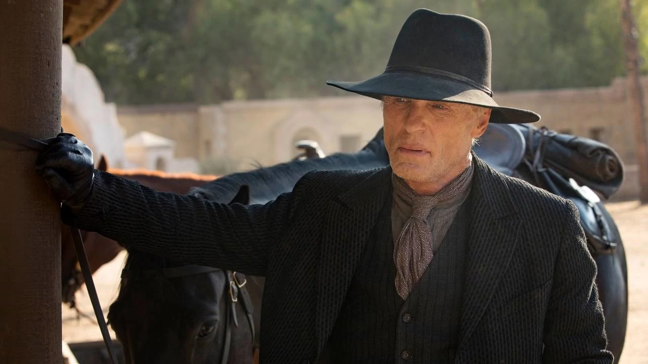 Ed Harris, William, en el 2x04 de Westworld, The Riddle of the Sphinx
