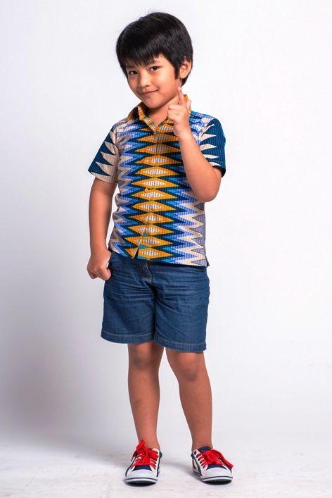 Model Baju Batik Anak Laki-Laki Terbaru Modern