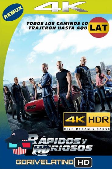 Rápidos y Furiosos 6 (2013) BDRemux 4K HDR Latino-Ingles MKV