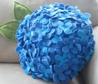 Kasımpatı Çiçeği Şeklinde Yastık Yapımı
