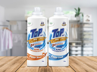 TOP TURBO CLEAN ULTRA CONCENTRATED DETERGENT