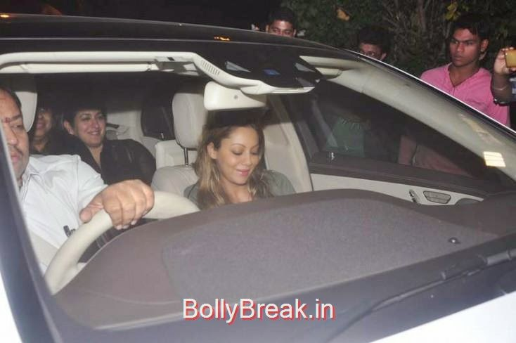 Gauri Khan, Kiran Rao, Mini Mathur Sidharth Malhotra and Gari Khan at Ranbir Kapoor's Party