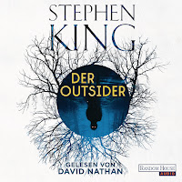 Cover des Stephen King Hörbuchs Outsider bei audible