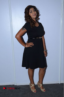 Tollywood Actress Geethanjali Thasya Latest Pos in Black Short Dress at Nanna Nenu Na Boyfriends Audio Launch  0046.JPG