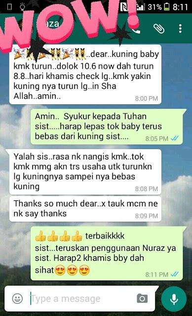 Testimoni – Nuraz Demam Kuning dari Sarawak