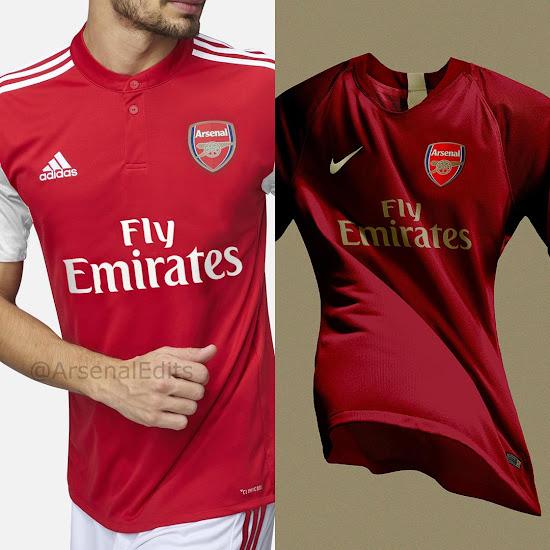 Nike Enters Battle for Arsenal Kit Deal - Footy Headlines