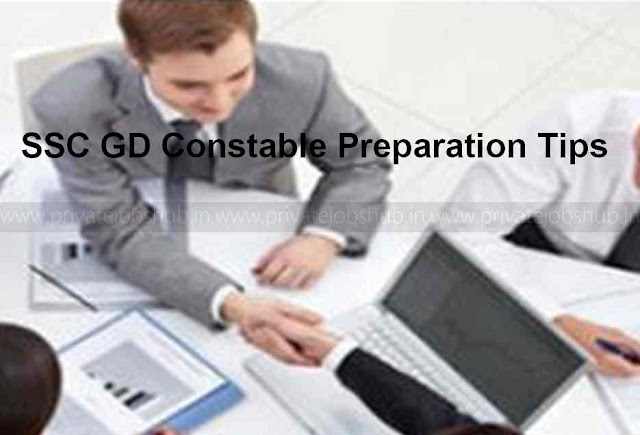 SSC GD Constable Preparation Tips
