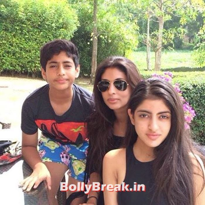Nikhil and Shweta Nanda have two kids together, Navya Naveli Nanda and Agastya Nanda, Kapoor Family Pics, Kapoor Family Chain, Origin, Caste, Family Tree - Nanda, Jain