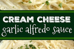 Cream Cheese Garlic Alfredo Sauce
