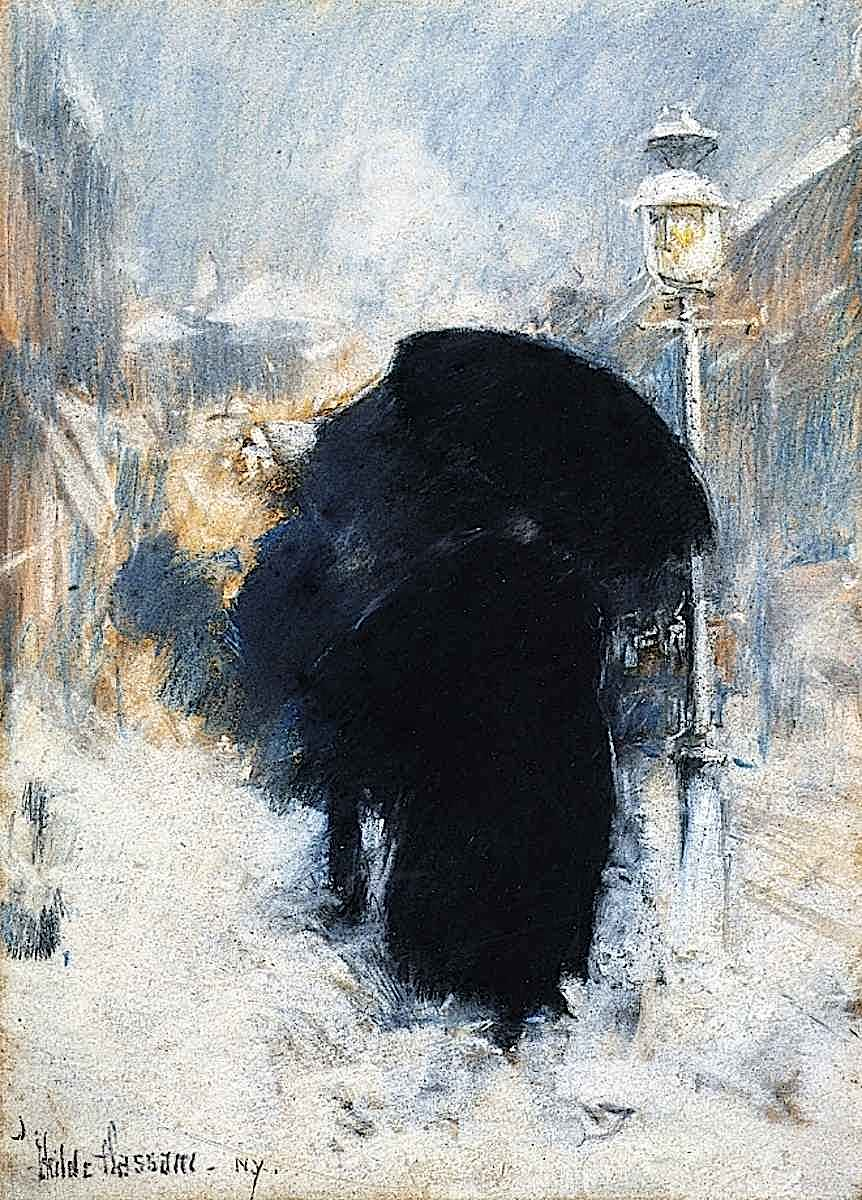 a Childe Hassam painting