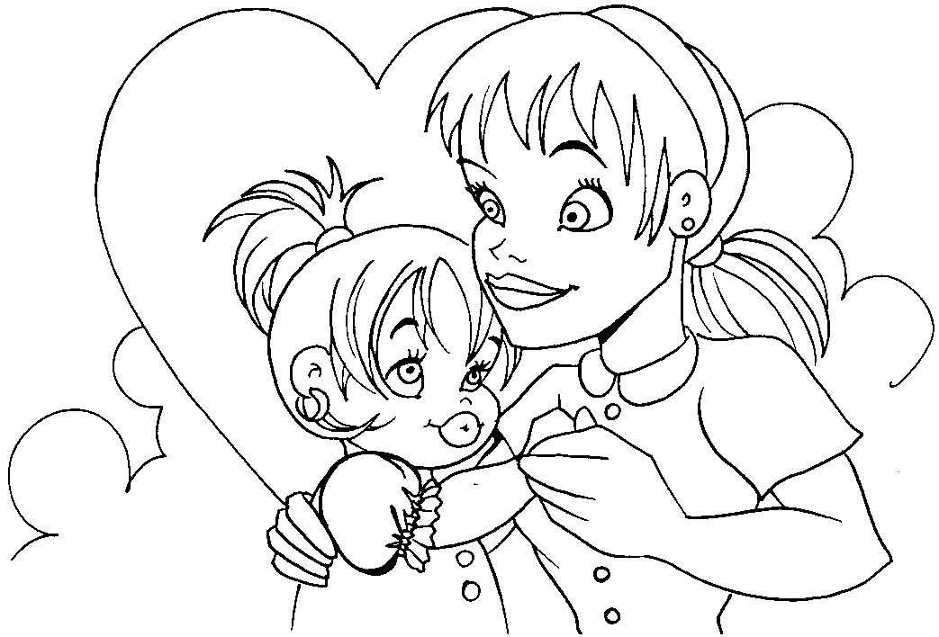 Rayito De Colores Dibujos Día De La Madre
