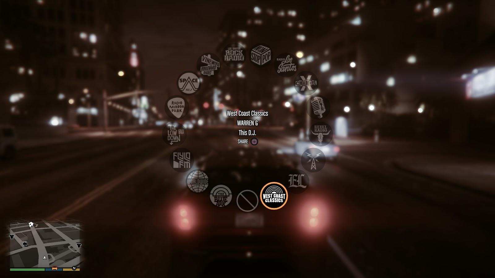 FTVMS 323 blog: Music playback technologies in GTA 5