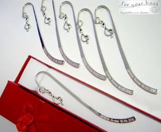 segnalibro metallo ciondolo chiave di sol regalo concerto